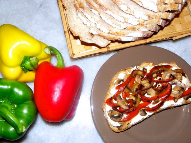 #Recette Tartines gourmandes