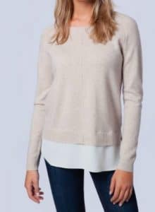 Pull 2en1 Repeat Cashmere