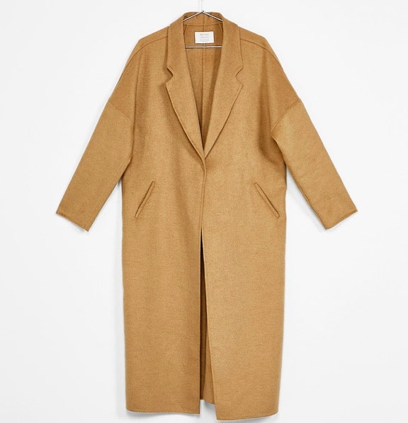 Manteau long Bershka