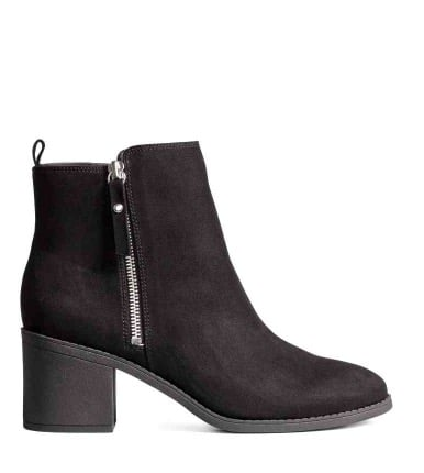 Bottines noires H&M