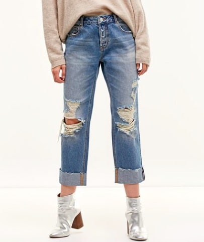Jean girlfriend Stradivarius