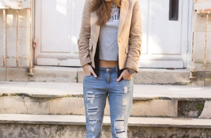 Layering outfits