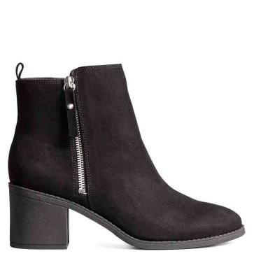 Boots noires h&m