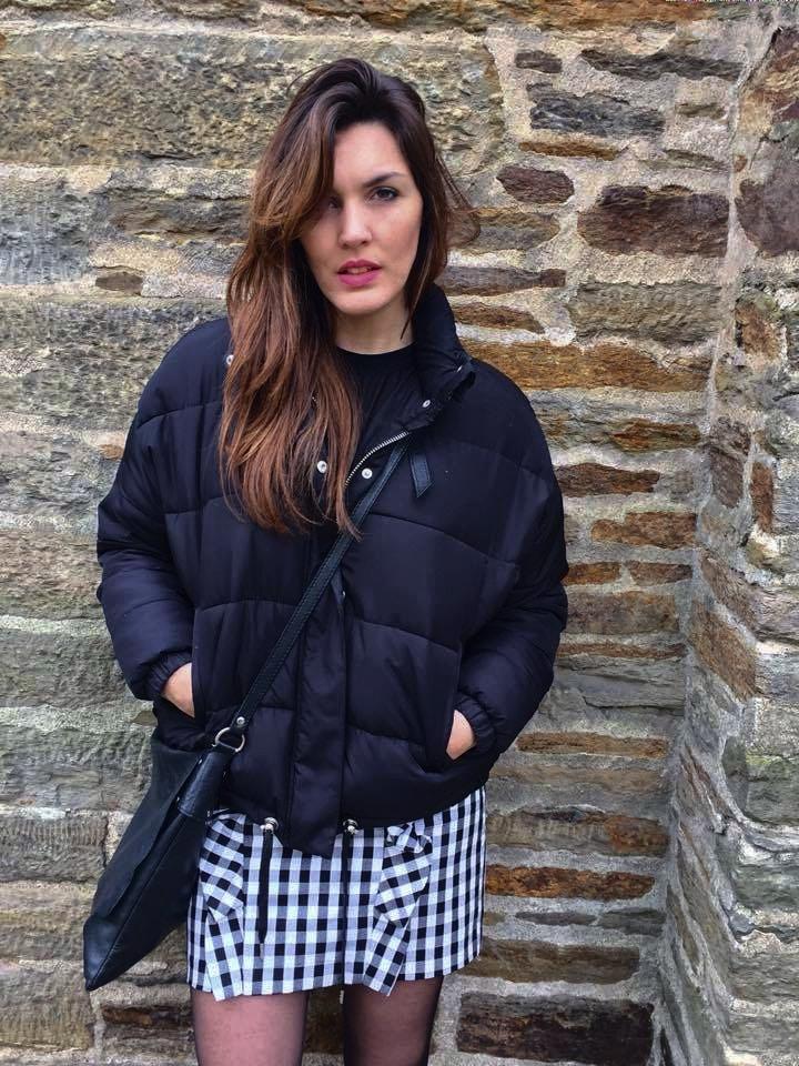 Look jupe vichy - Milovely Blog