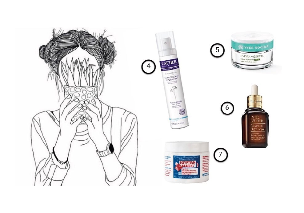 Produits pour hydrater la peau