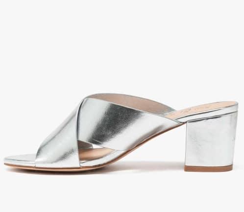 Sandales argentées Follow Me by Gémo