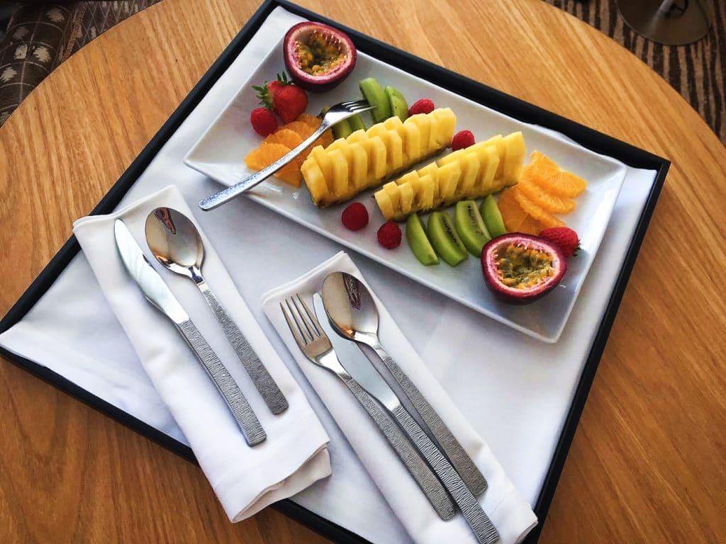 Coupe de fruits sofitel biarritz