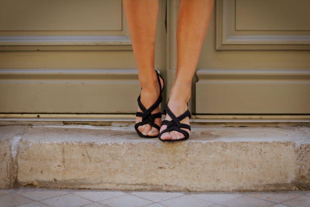 Sandales noires H&M