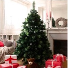 Sapin de Noël Rue du Commerce