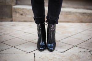 Boots vernies Sacha Shoes