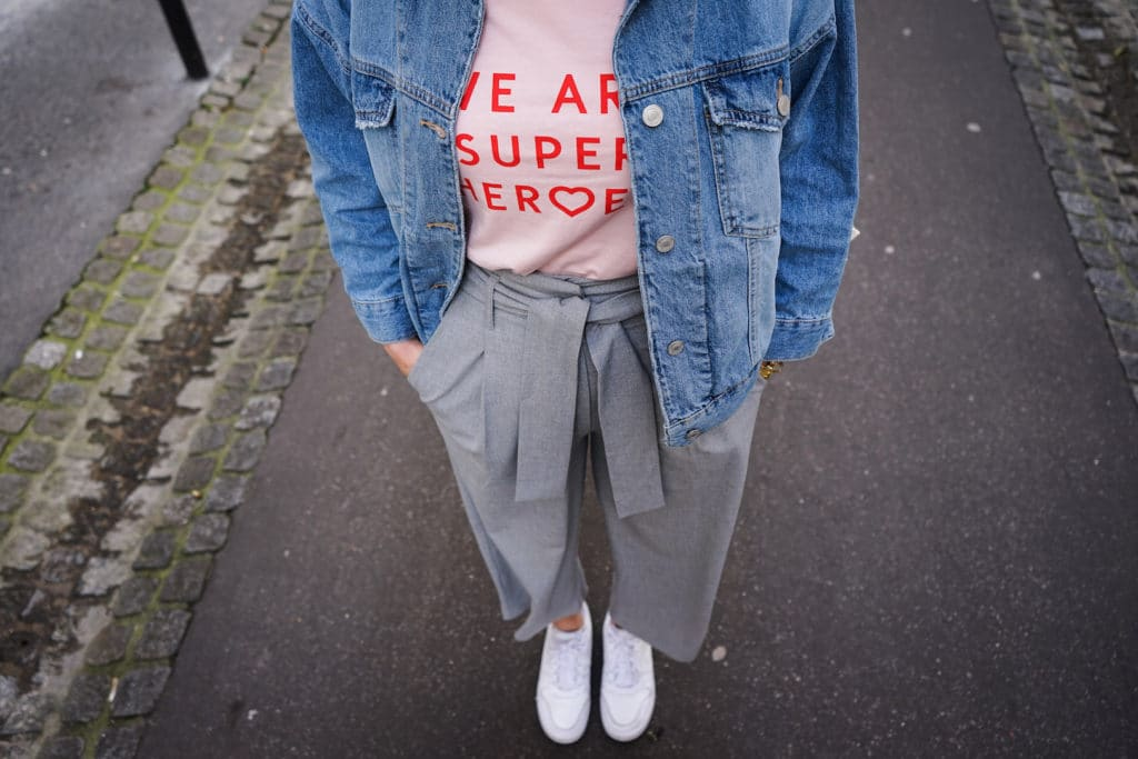 Blogueuse mode bordeaux