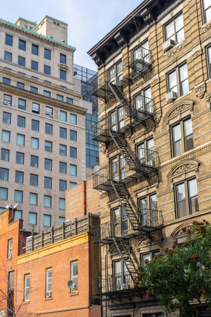 Architecture buildings Manhattan