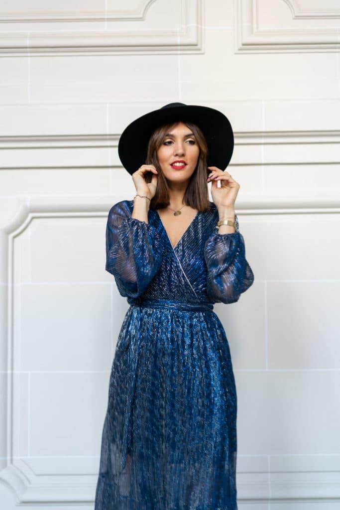 robe et chapeau