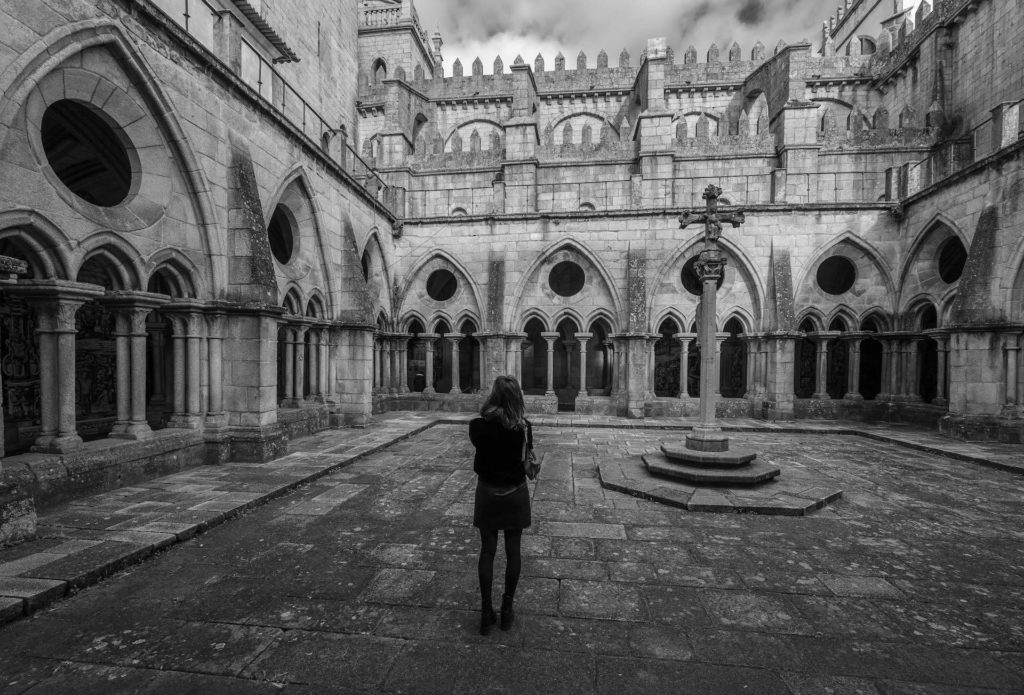 cloître cathédrale Porto