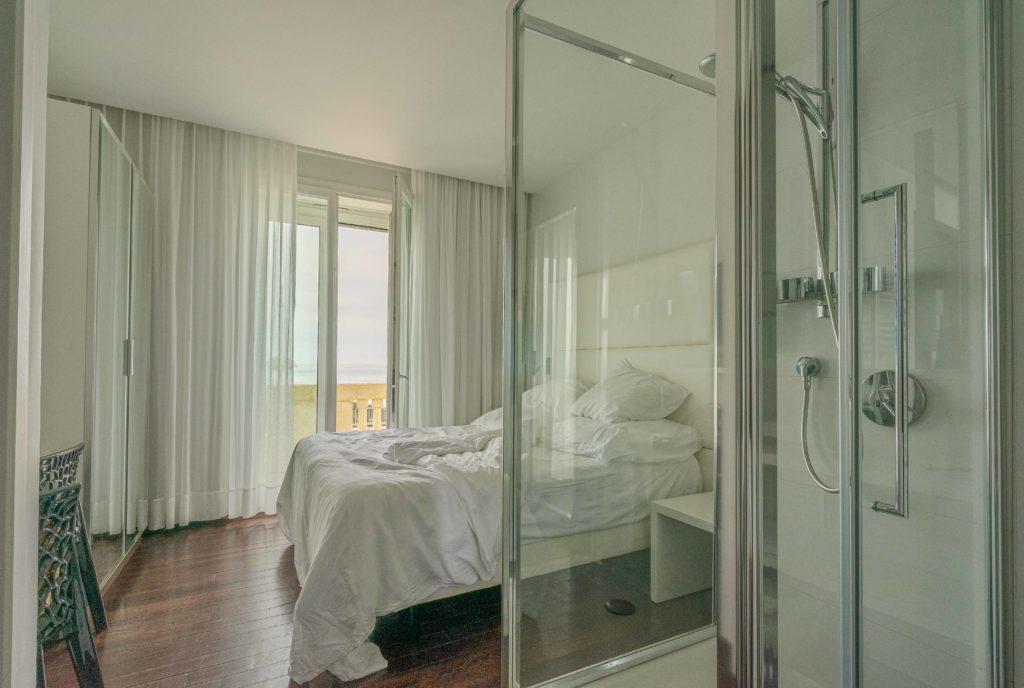 chambre d'hôtel à Biarritz face à la mer