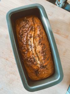 recette banana bread moelleux pépites de chocolat