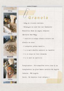 recette granola facile à faire soi-même